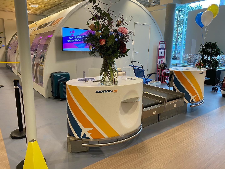 Summair Summa luchtvaartdienstverlening Eindhoven AIrport